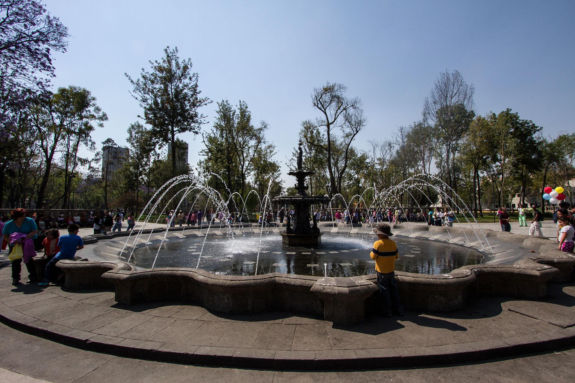 The Alameda, Mexico City