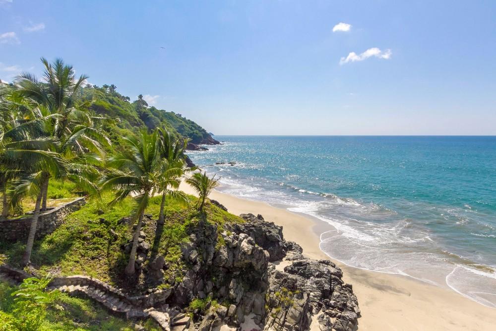 Bungalows Lydia, San Pancho, the beach