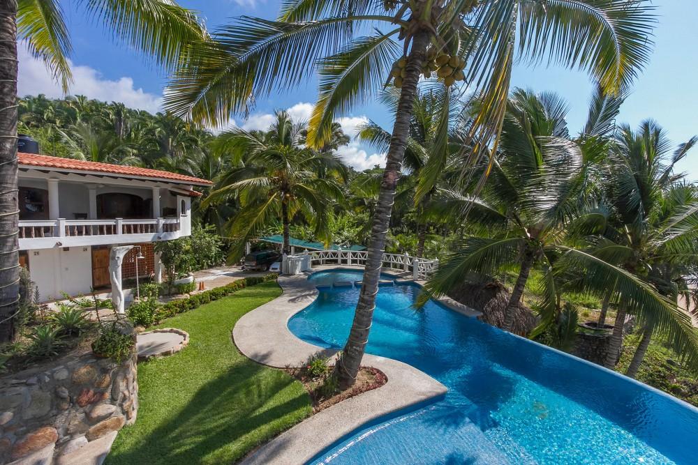 Bungalows Lydia, San Pancho, the pool