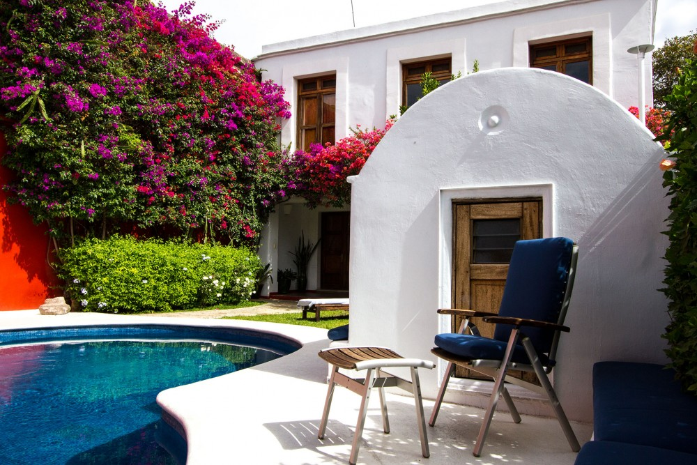 Casa Oaxaca, the pool