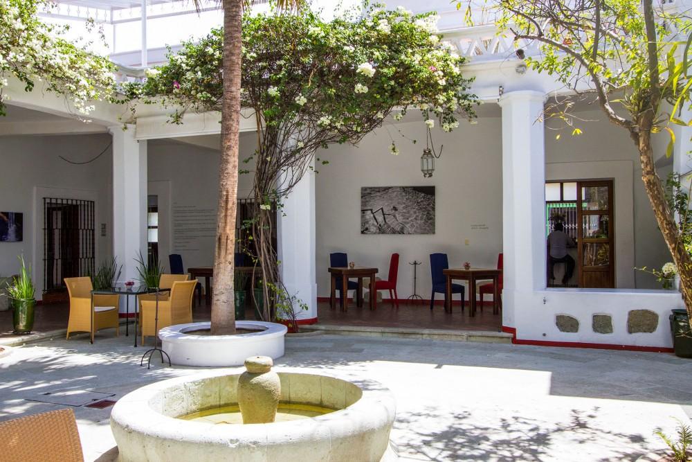 Casa Oaxaca, the restaurant