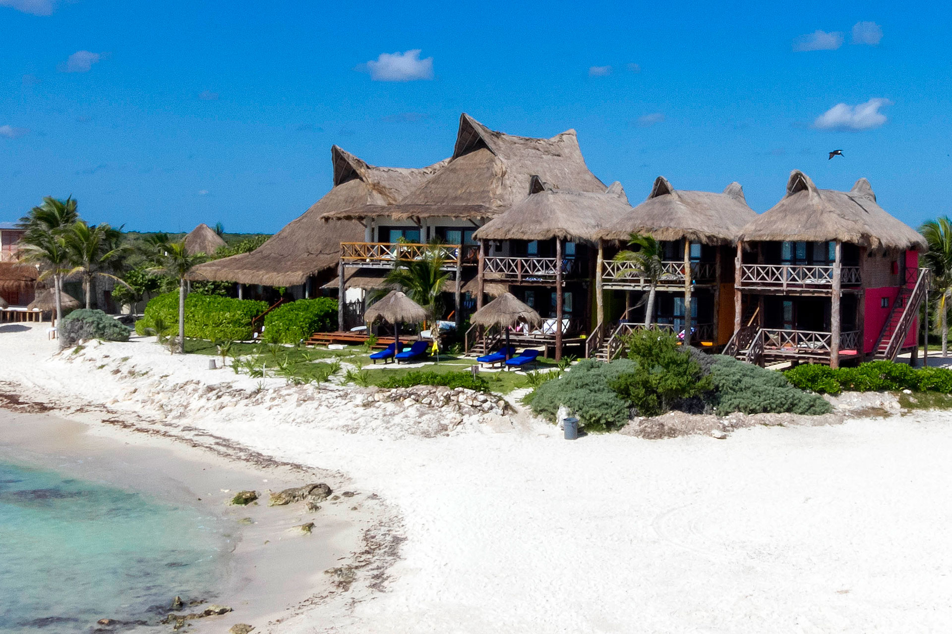 el Pez, Tulum, the beach