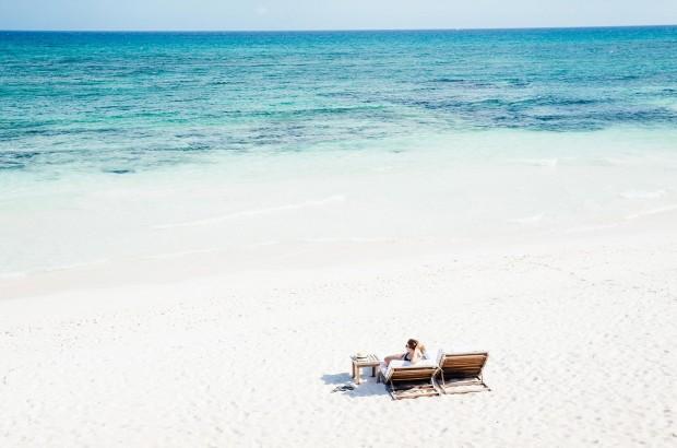 hotel esencia, the beach