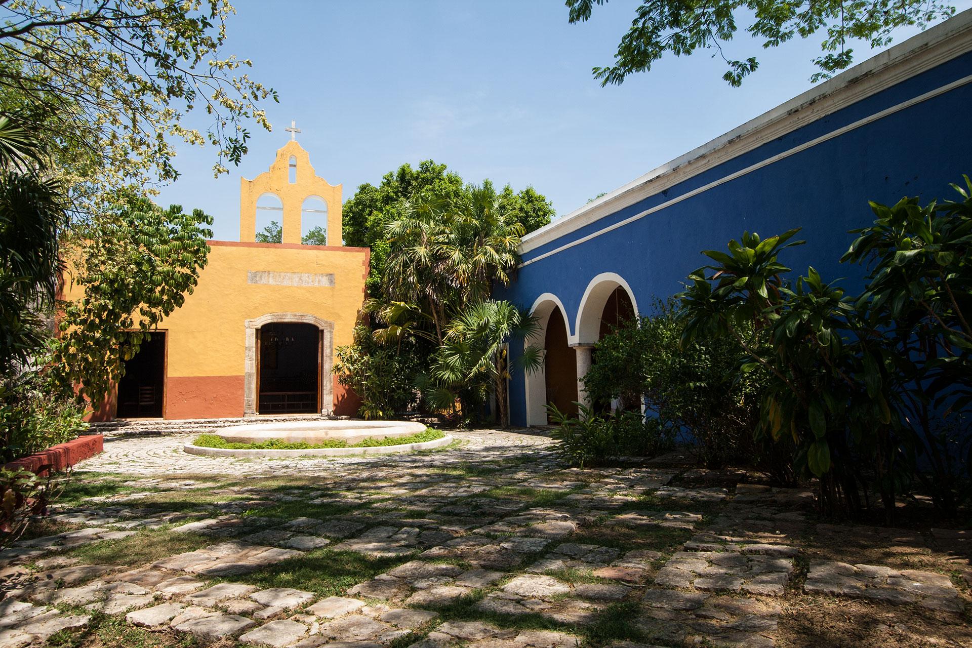 Hacienda San Jose, the chapel