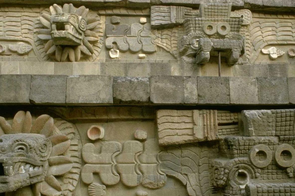 Mexico City, Temple of Quetzacoatl