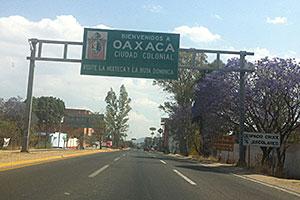 oaxaca sign
