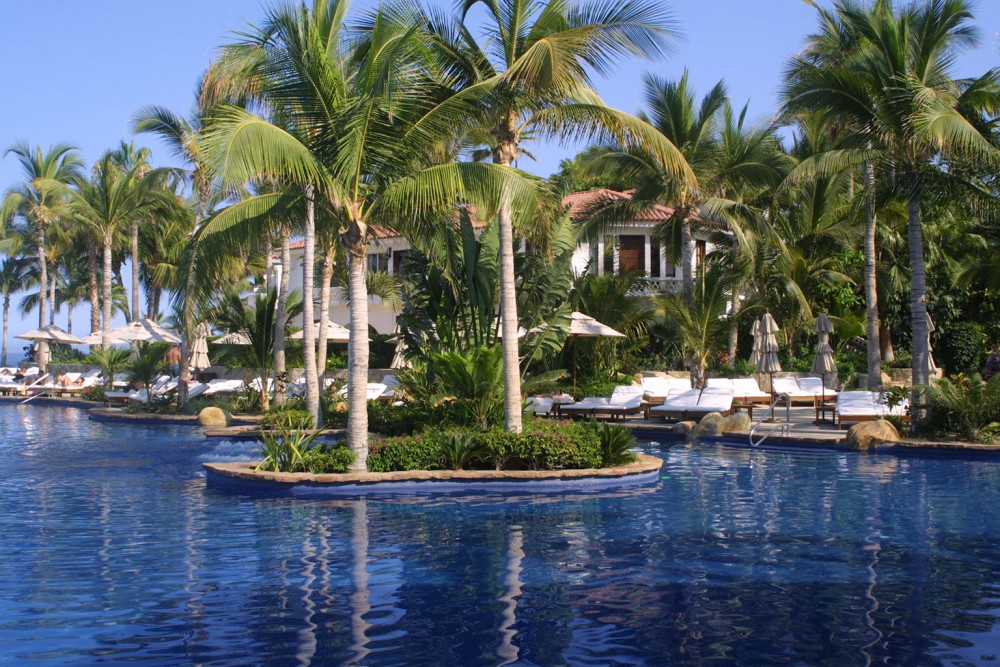 One and Only Palmilla, Los Cabos, the pools