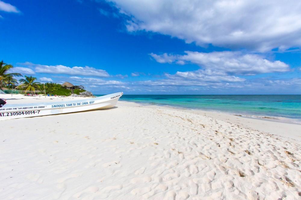 Posada Punta Piedra, the beach