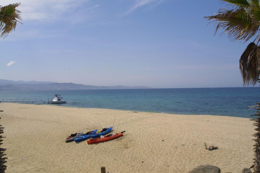 Rancho Leonero, East Cape, Baja California, the beach