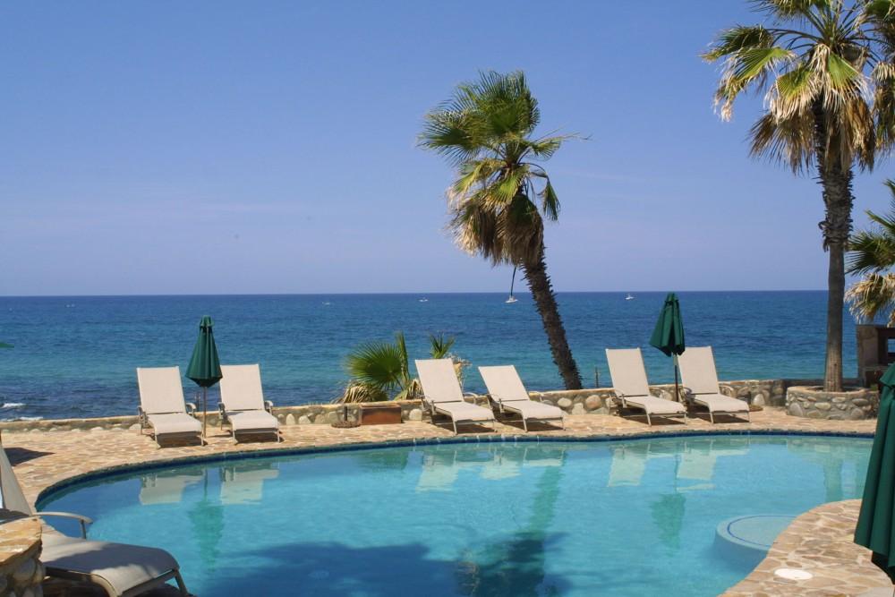 Rancho Leonero, East Cape, Baja California, the pool
